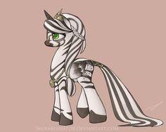 Zebra Princess by Saurabhinator.deviantart.com on @deviantART