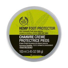 The Body Shop Mixte Crème Protectrice Pieds Chanvre