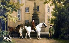 George Stubbs, The 3rd Duke of Portland on horseback at Welbeck, 1767. The Portland Collection. © The Harley Gallery