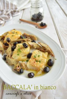 White cod with artichokes and olives – Shellfish Recipes How To Cook Zucchini, How To Cook Pasta, Shellfish Recipes, Seafood Recipes, Healthy Cooking, Cooking Recipes, Cooking Pasta, Cooking Red Potatoes, Gastronomia