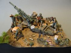 Dioramas and Vignettes: Trench blues