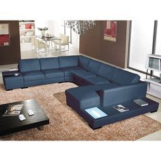 This furniture set is made of solid hardwood and high density foam. The square back cushions on this sofa sectional are overstuffed for extra comfort.