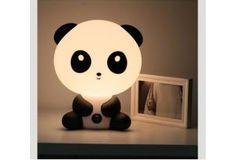 Hvis sådan en lampe her er til at opdrive :)  Lampe panda