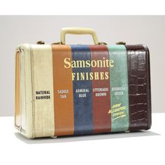 Case vintage salesman