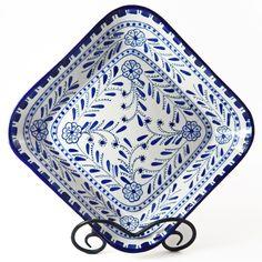 Le Souk Ceramique Azoura Square Serving Bowl