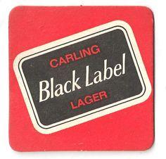 Carling Vintage Beer Mat