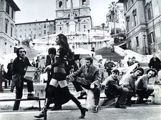 Rome, Piazza di Spagna, 1960