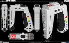 Space 1999 Stun Gun Mk.II by cosedimarco.deviantart.com on @deviantART