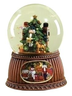 "Roman 5.5"" Nutcracker Christmas Glitter Dome (33042) for only $30.00 You save: $23.95 (44%)"