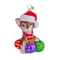 chihuahua ornaments | Radko Ornaments Dog Christmas Ornament Chihuaha Chiquito