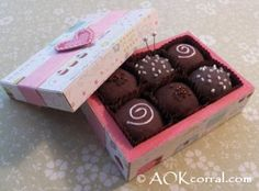 Chocolates & Coffee / Tea Cup Pin Cushion Patterns