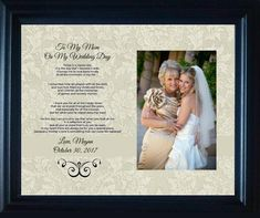 Items similar to Mom Mother Wedding Gift of the bride Bride Personalized Parent Wedding Gift on Etsy Country Wedding Groom, The Wedding Date, On Your Wedding Day, Wedding Bride, Wedding Dress, Daughter Poems, To My Daughter, Wedding Gifts For Parents, Man And Wife