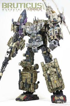 Transformers Devastator, Transformers Prime, Transformers Robots, Cool Robots, Cool Toys, Robot Picture, Transformers Masterpiece, Nova Era, Custom Gundam