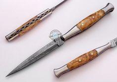 """8.50"""" Custom Made Beautiful Damascus steel Letter Opener knife (FSL-082-67) #UltimateWarrior"""