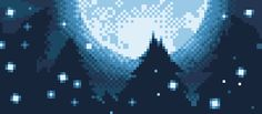 Dithered Moon