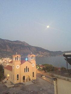 Flisvos, Kalamata, Greece — by MaRia Stathopoulos. Kalamata at night!