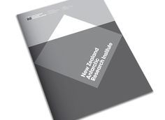 New branding for New Zealand Antartic Research Institute. Clever!!