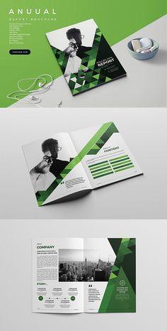#brochure #template #corporate #indesign #templates