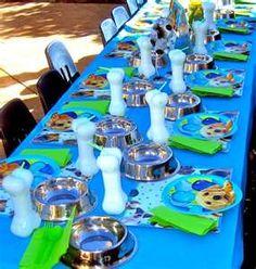 Puppy theme party @Christy Polek Polek Polek Polek Kelley McClure  http://www.designdazzle.com/2011/04/puppy-party-ideas/