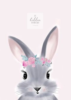 Billie the Bunny Easter Drawings, Baby Animal Drawings, Cute Drawings, Ostern Wallpaper, Lapin Art, Baby Animals, Cute Animals, Bunny Painting, Watercolor Art