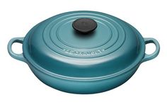 Le Creuset Enameled Cast-Iron 3-1/2-Quart Buffet Casserole, Caribbean >> Quickly view this special product, click the image : bakeware