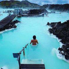 Blue Lagoon Iceland Photo by @threeifbysea by fantastic.colours