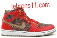Jordan I Retro X Levis Strauss Denim Fire Red Cemenst Shoes