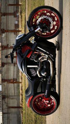 Harley Davidson Night Rod, Harley Davidson Bikes, Custom Street Bikes, Custom Bikes, Night Rod Custom, Cool Boats, Best Luxury Cars, Super Bikes, Bike Design