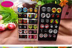 pas cher, Achetez directement de China Suppliers: Livraison gratuite de diverses couleurs et conceptions 8& 10mm vintage. stub boucles d'oreilles à bas prix, mini jeunesse, whoelsale enfants boucles d'oreillesmélange de couleurs et de dessinsTaille:
