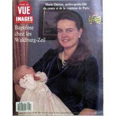 Point De Vue Images Du Monde N° 2155 Du 17/11/1989 - Marie-Therese - Arriere-Petite-Fille Du Comte Et De La Comtesse De Paris. Bapteme Chez Les Waldburg-Zeil.