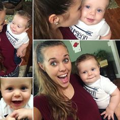 Jessa and Spurgeon Seewald June 2016 Second Baby, First Baby, Jeremy Vuolo, Dugger Family, Bates Family, 19 Kids And Counting, Thing 1, Cute Celebrities, Baby Love