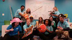 SEA LIFE Charlotte Hosts #TeamMerlin #FUN #ILoveMyJob #WeTakeOwnership #WeCare