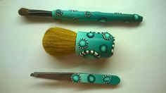 Makeup with polymer clay by bY mE Polymer Clay Tools, Pasta Machine, Blade, Makeup, Inspiration, Fimo, Make Up, Biblical Inspiration, Beauty Makeup