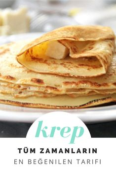 Conas oideas Crepe Bricfeasta a dhéanamh? - Essential International Milis Recipes In Irish Crepes, Waffles, Pancakes, Cooking Recipes, Healthy Recipes, Healthy Food, Allrecipes, Recipies, Food And Drink