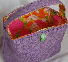 Lainies Tote Bag - Free Pattern by Craft Leftovers