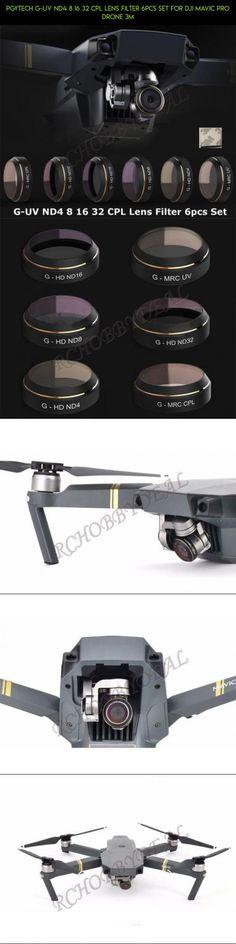 PGYTECH G-UV ND4 8 16 32 CPL Lens Filter 6pcs Set for DJI MAVIC Pro Drone 3M #racing #shopping #drone #fpv #parts #32 #pro #filter #mavic #kit #gadgets #products #technology #tech #nd #camera #plans