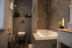 badkamer met betonlook - Google zoeken
