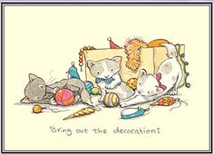 'Bring out the Decorations', Anita Jeram