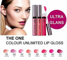 Oriflame The ONE Colour Unlimited Lip Gloss - A blend of conditioning components keeps lips soft for lip-loving colour and shine that stay put. This gloss goes well with different makeup looks. You can wear it with day time look or when you go out in the evening with friends. LipGrip Technology attach gloss to lips using anti-smudge result.
