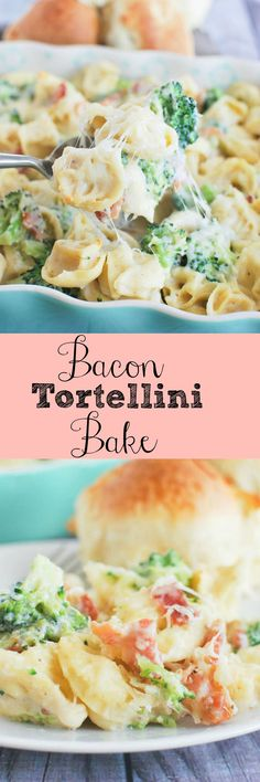 Bacon Tortellini Bake