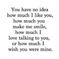 You have no idea how much