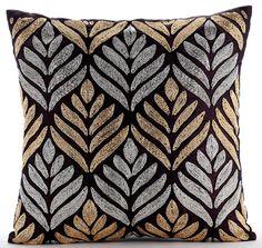 Designer Plum Pillow Covers 16x16 Velvet by TheHomeCentric on Etsy
