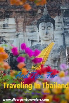 27 Photos That Will Make You Want to Visit Thailand Looking for some travel inspiration? Thailand is in the middle of a tourism boom and it is easy to see why as the country is not only gorgeous but loaded with things to do. Thailand has it all from the jungles in the North to the beaches in the South and everything in between. Explore Thailand http://www.divergenttravelers.com/category/destinations/southeast-asia/thailand/