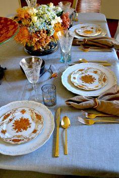 Entertaining: Thanksgiving Tablescape