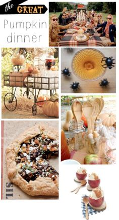 Pumpkin Carving Dinner Inspiration || The Dreamery