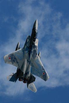 "planes-and-aviation: "" eyestothe-skies: ""  Mitsubishi F-15DJ Eagle, Japan Air Self-Defense Force "" DJ Eagle """