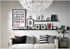 floating shelf decor ideas - Google Search