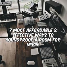 How to Soundproof a Room for Music Studio Soundproofing, Bad Gyal, Recording Studio Setup, Soundproof Windows, Podcast Tips, Music Studio Room, Build Your House, Recorder Music, Diy Flooring