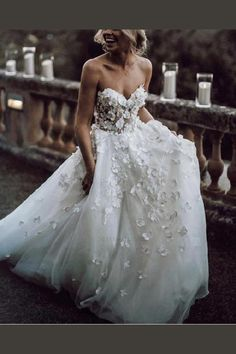 0cb1a29dad9 Outlet Admirable Lace Boho Lace Flowers Sweetheart Tulle Wedding Dresses