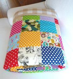 Confetti patchwork deken van Tuttebel